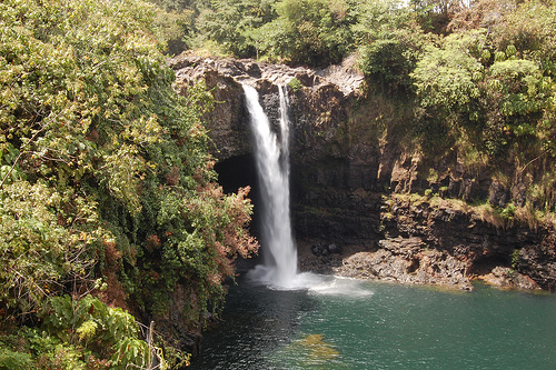 Waterfalls of Hawaii - Kahuna Falls at Akaka Falls State Park